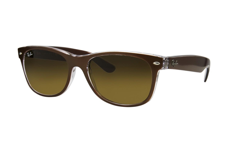ray ban rb2132 55 new wayfarer brown sunglasses luluguinnesseyeglasses. Black Bedroom Furniture Sets. Home Design Ideas