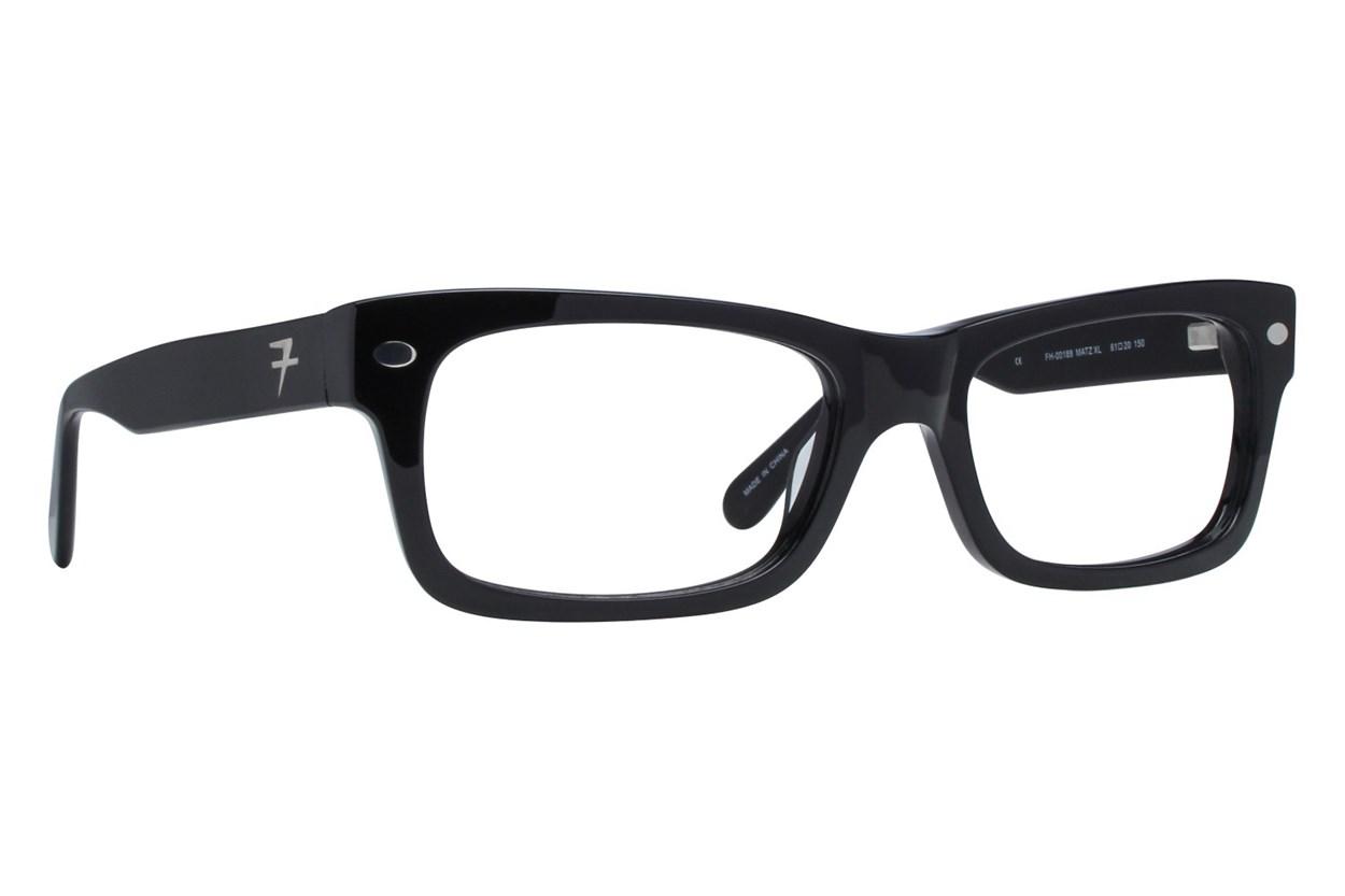 Fatheadz Matz Black Eyeglasses