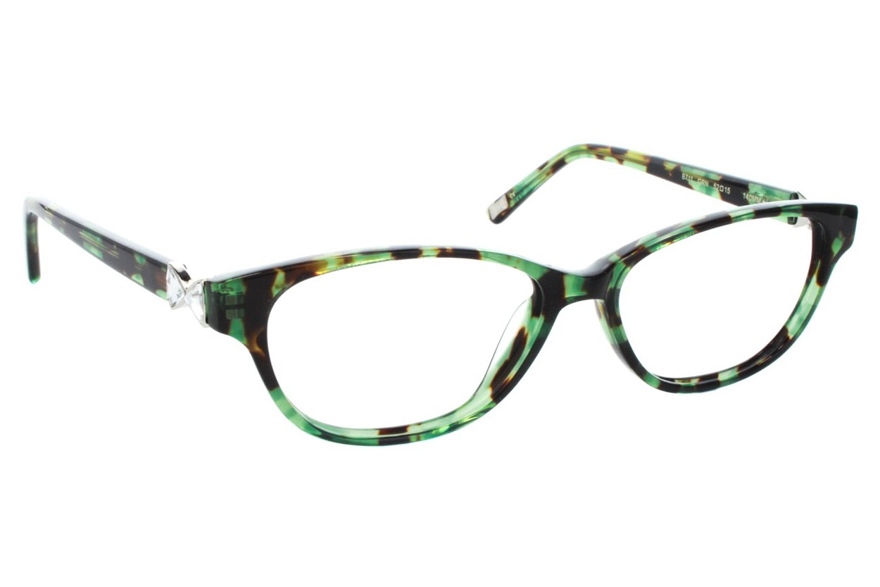 Ted Baker B711 Eyeglasses - Green