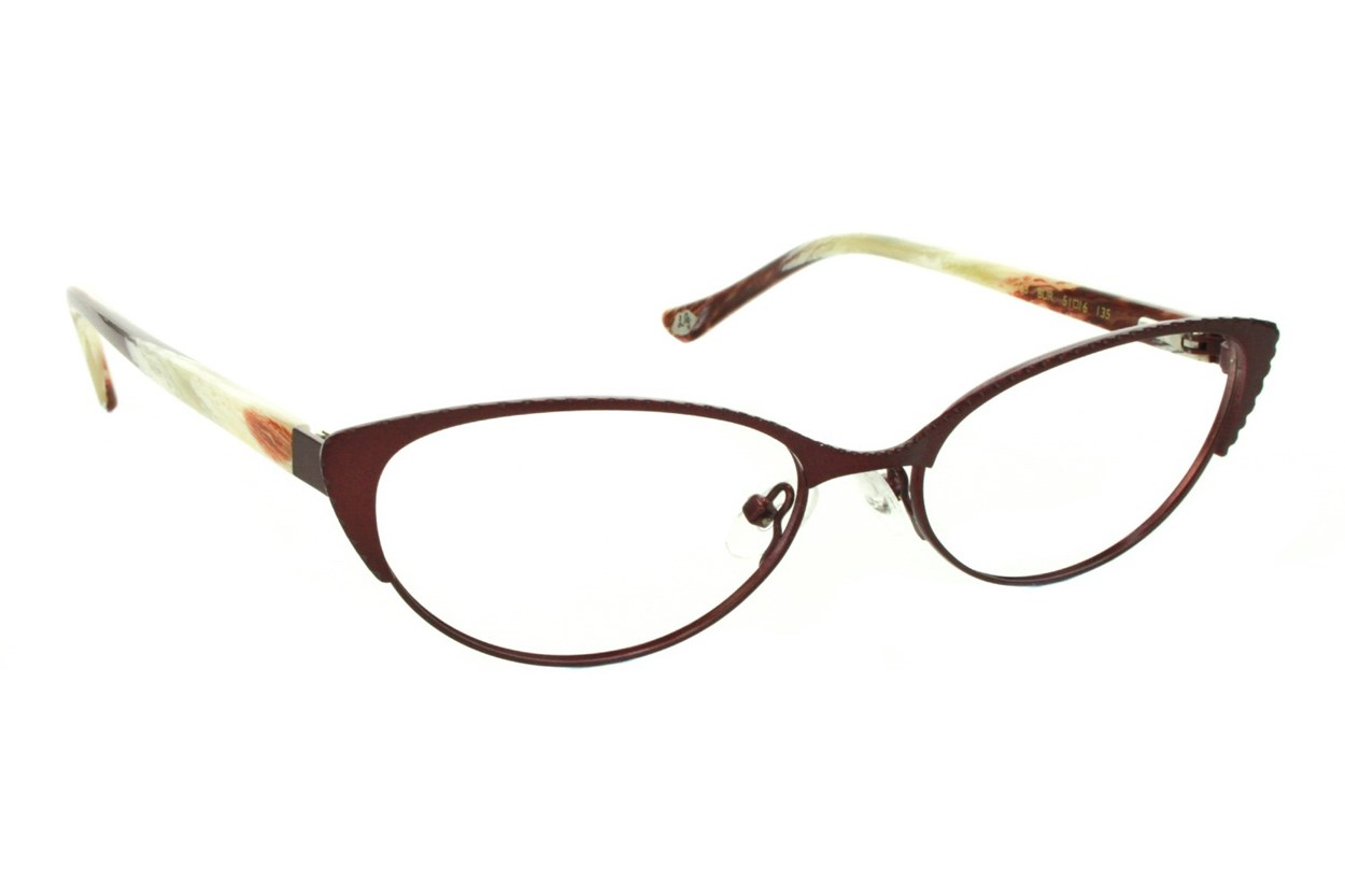 Lulu Guinness L763 Red Eyeglasses