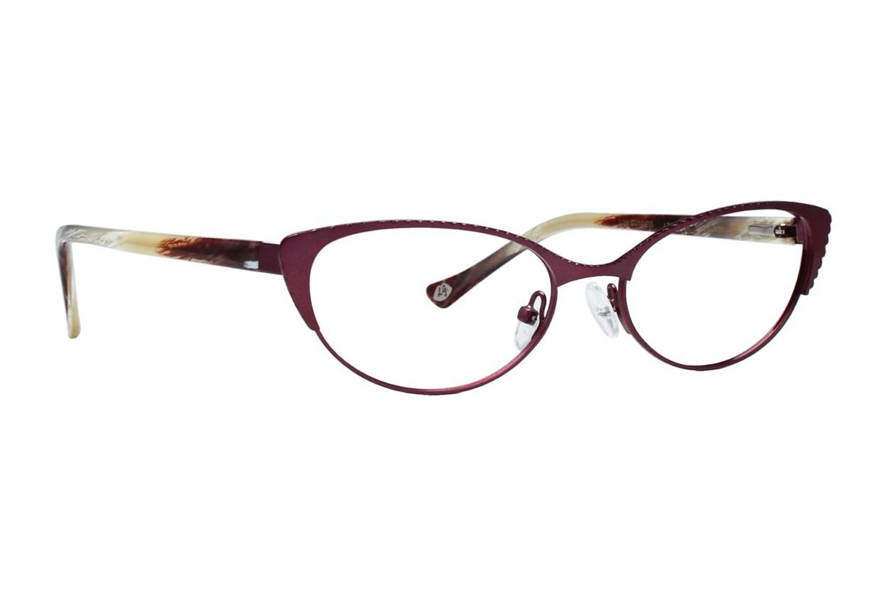 Lulu Guinness L763 Red Eyeglasses