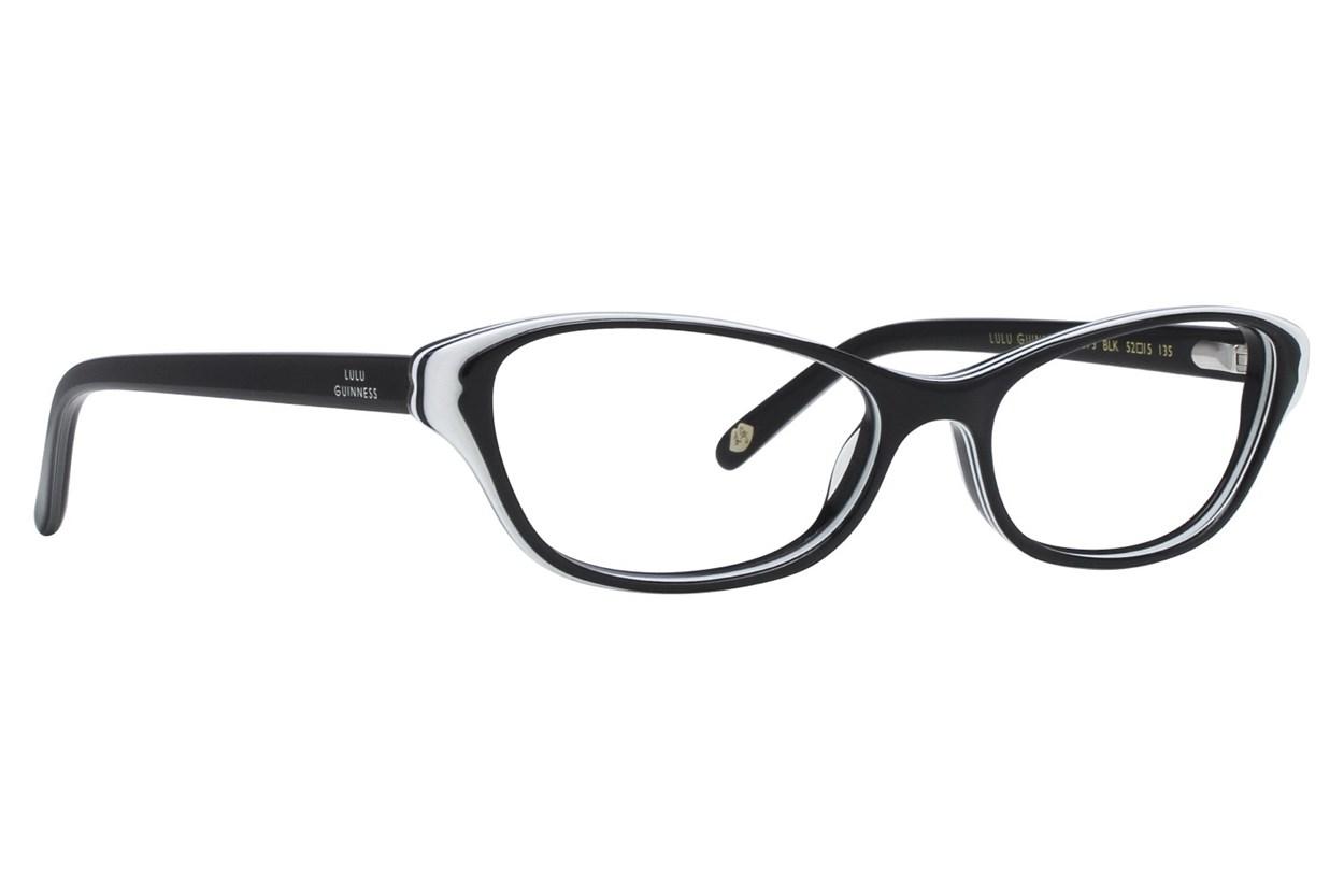 Lulu Guinness L873 Black Eyeglasses