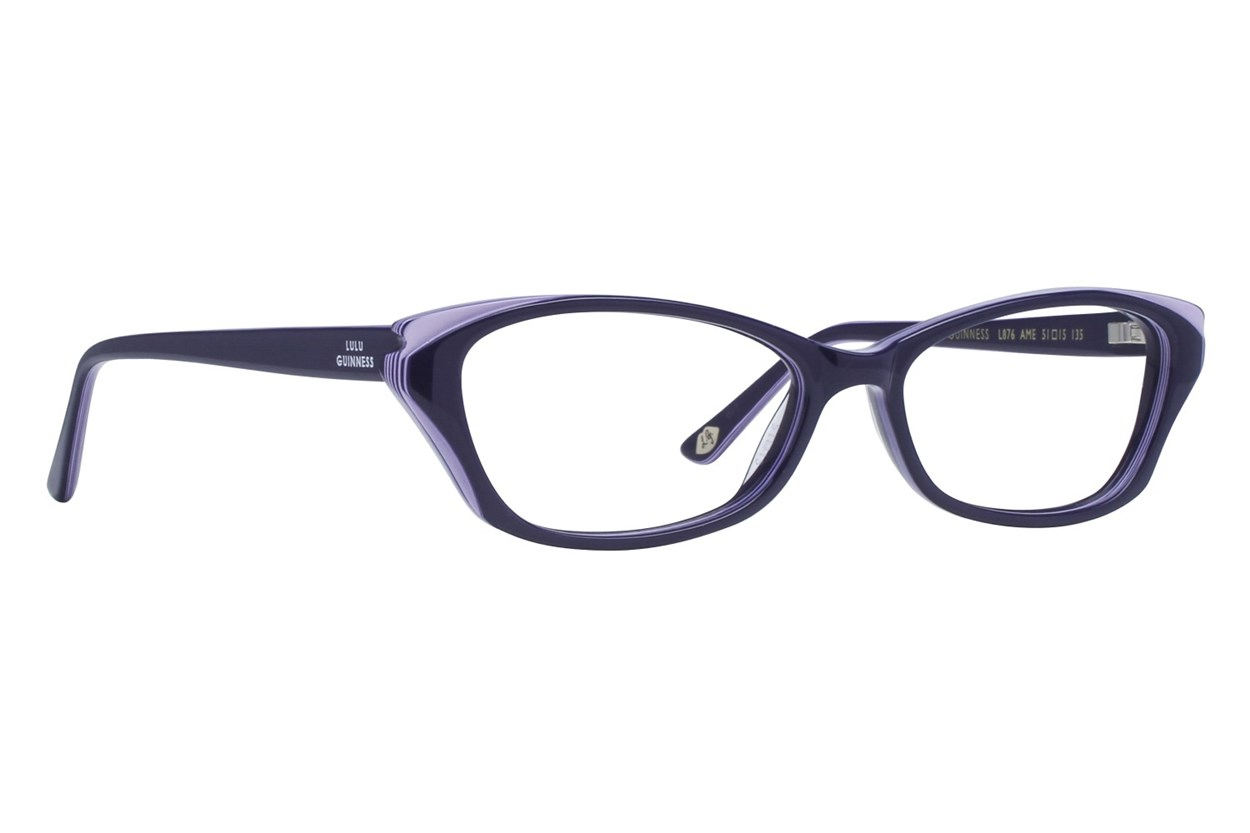 Lulu Guinness L876 Eyeglasses - Blue
