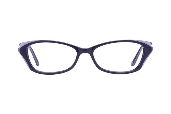 Lulu Guinness L876 Blue Eyeglasses