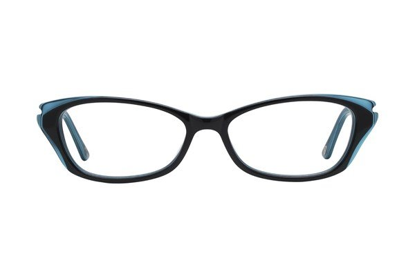 Lulu Guinness L876 Black Eyeglasses