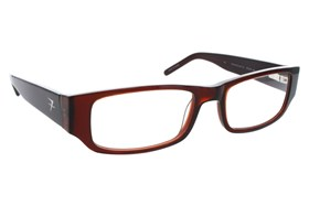 Fatheadz Aim Reading Glasses Brown