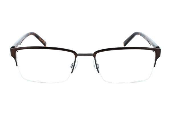 Randy Jackson RJ1042 Brown Eyeglasses