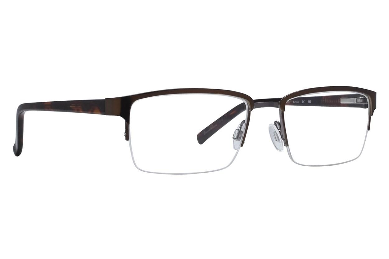 Randy Jackson RJ1042 Brown Eyeglasses