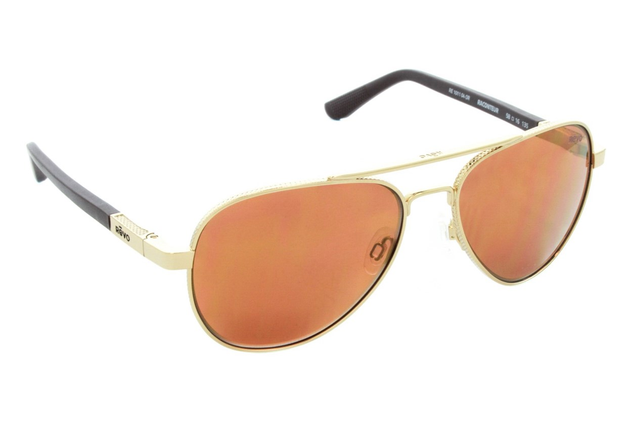 Revo Raconteur Gold Sunglasses