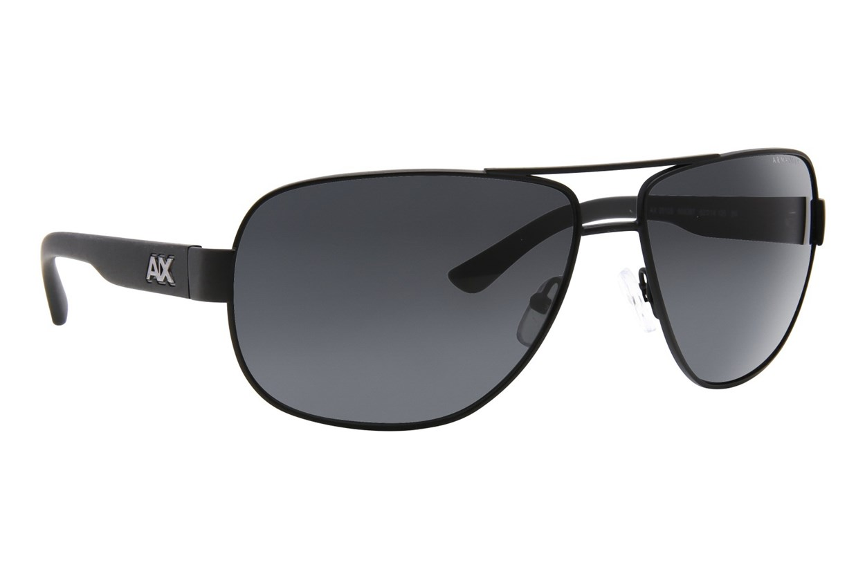 Armani Exchange AX2012S Sunglasses - Black