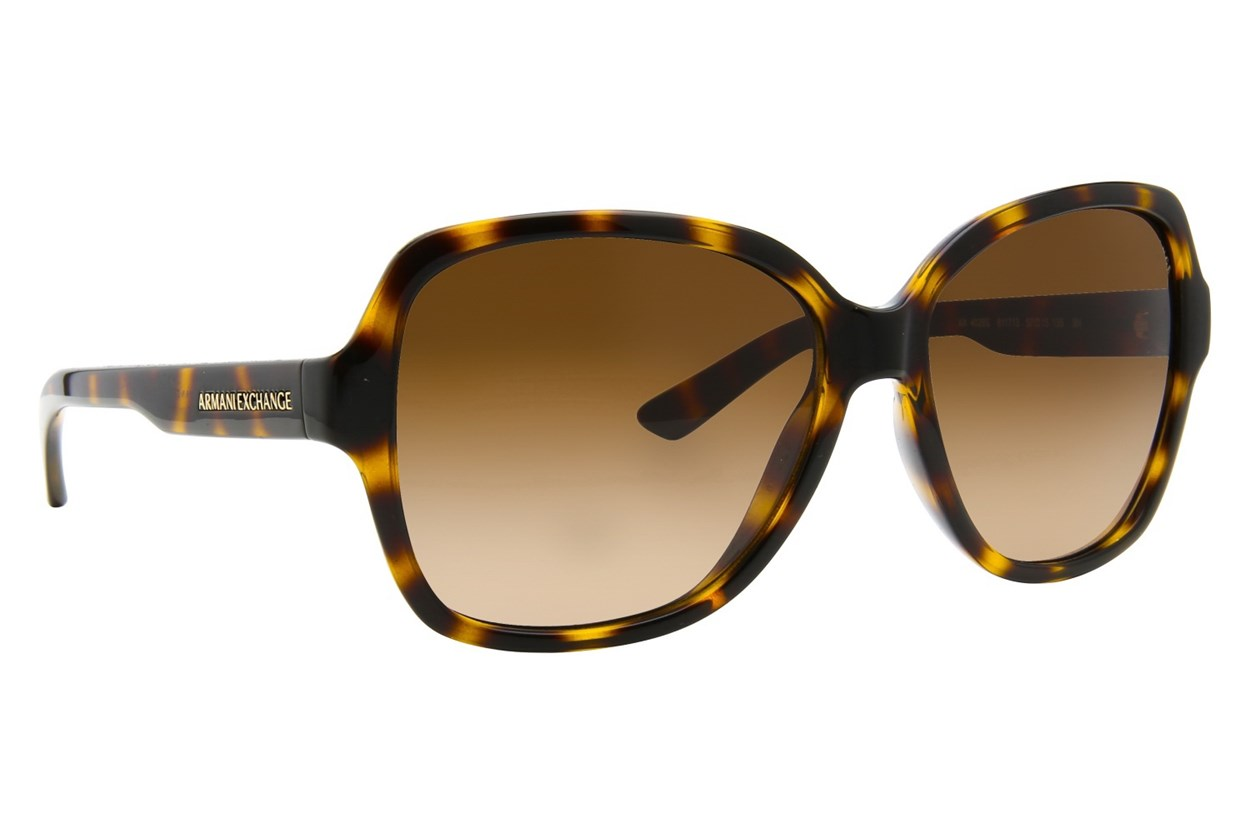 Armani Exchange AX4029S Tortoise Sunglasses
