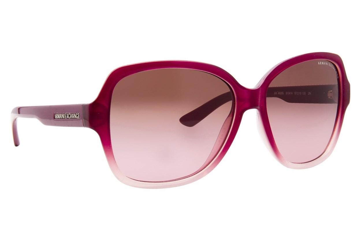 Armani Exchange AX4029S Purple Sunglasses