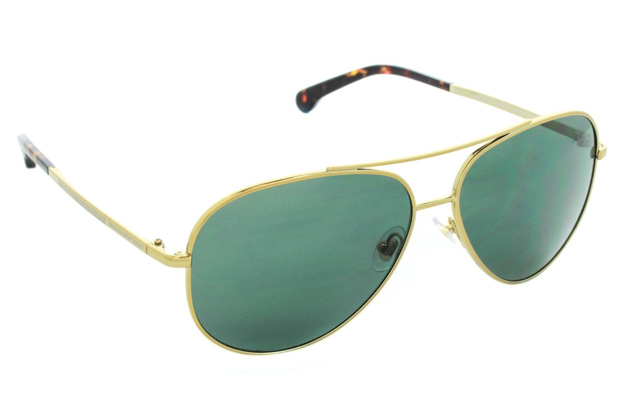 Brooks Brothers BB4024 Sunglasses - Gold