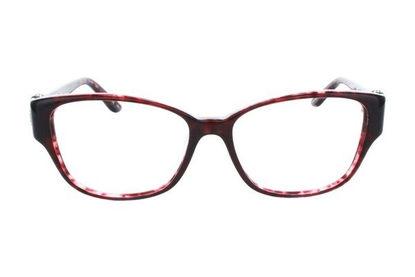 Badgley Mischka Fae Red Eyeglasses