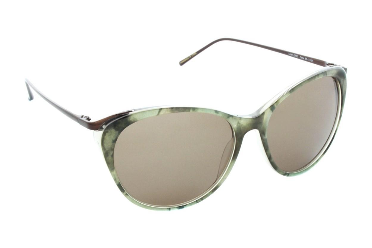 Badgley Mischka Fiona Tan Sunglasses