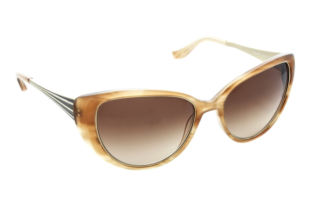 Badgley Mischka Martine Sunglasses - Brown