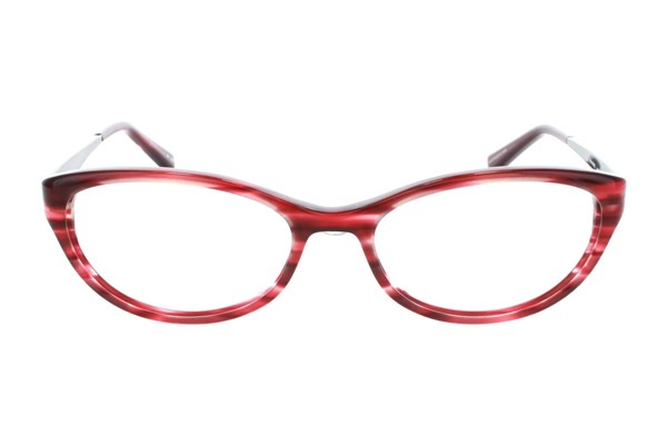Badgley Mischka Jeanette Eyeglasses - Wine