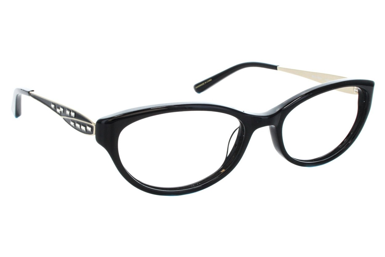 Badgley Mischka Jeanette Eyeglasses - Black