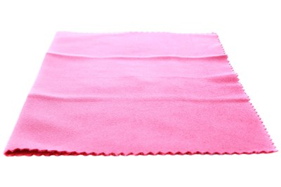 Amcon Soft as Silk Microfiber Cleaning Cloths Pink