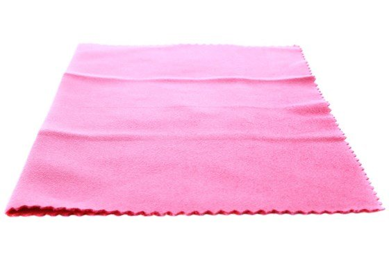 Amcon Soft as Silk Microfiber Cleaning Cloths Pink GlassesCleaners