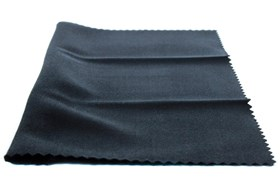 Amcon Soft as Silk Microfiber Cleaning Cloths Black