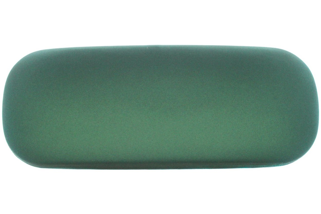 Amcon Protective Clam Eyeglasses Case Colors Green GlassesCases
