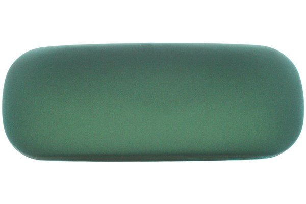 Amcon Protective Clam Eyeglasses Case Colors Green 50