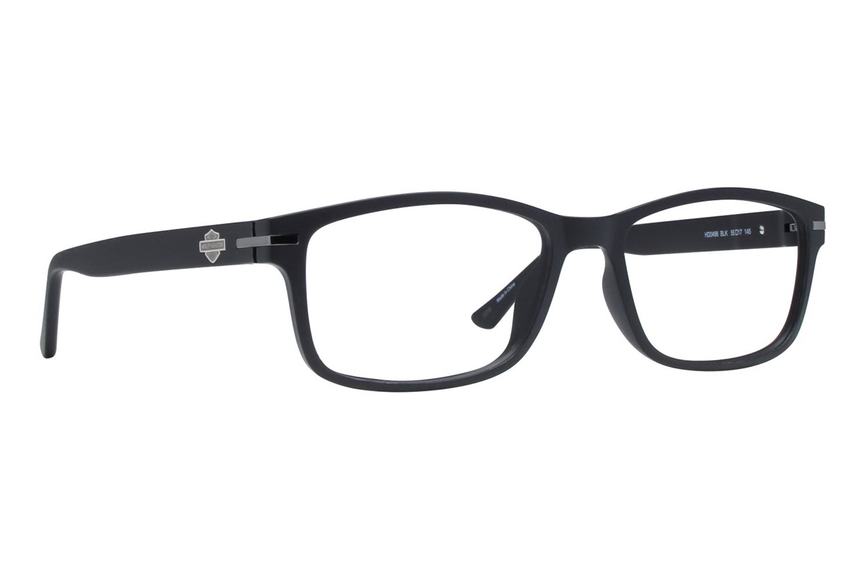 Harley Davidson HD 496 Black Eyeglasses
