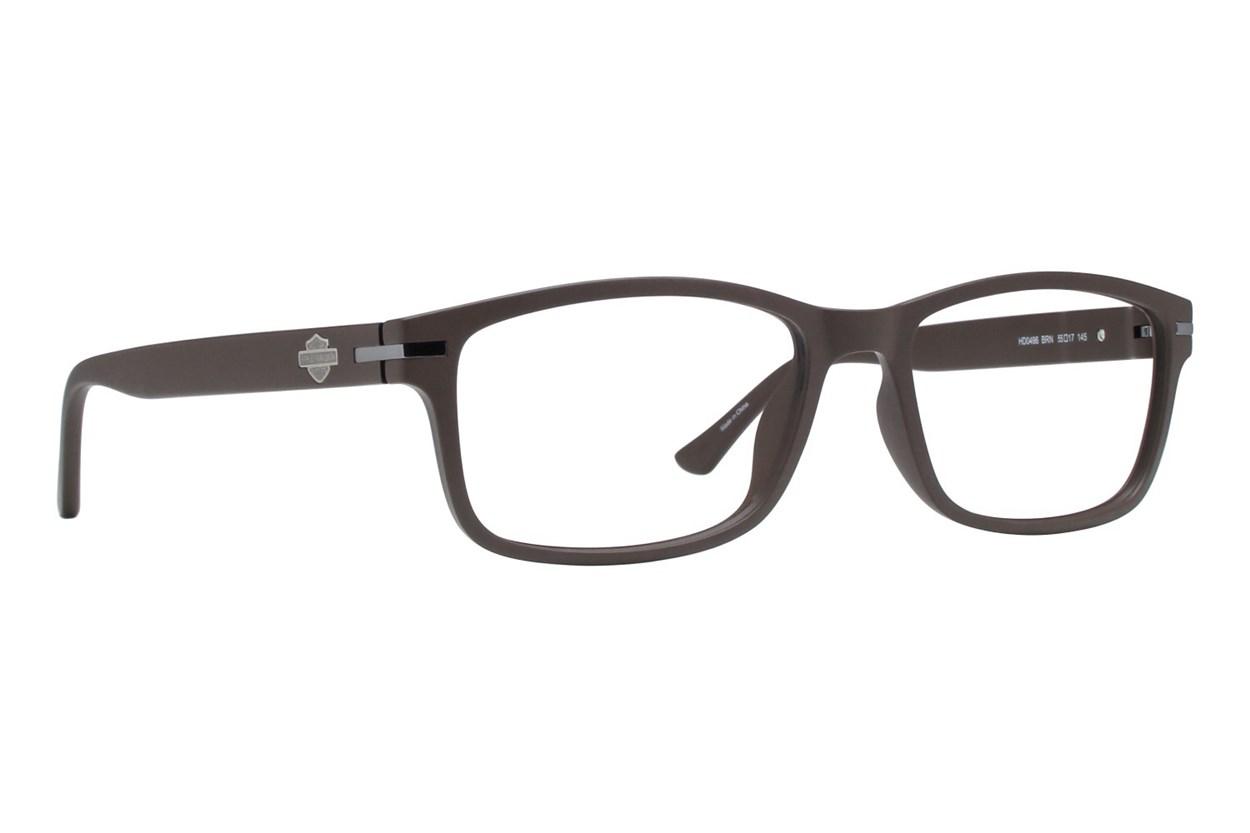 Harley Davidson HD 496 Brown Eyeglasses