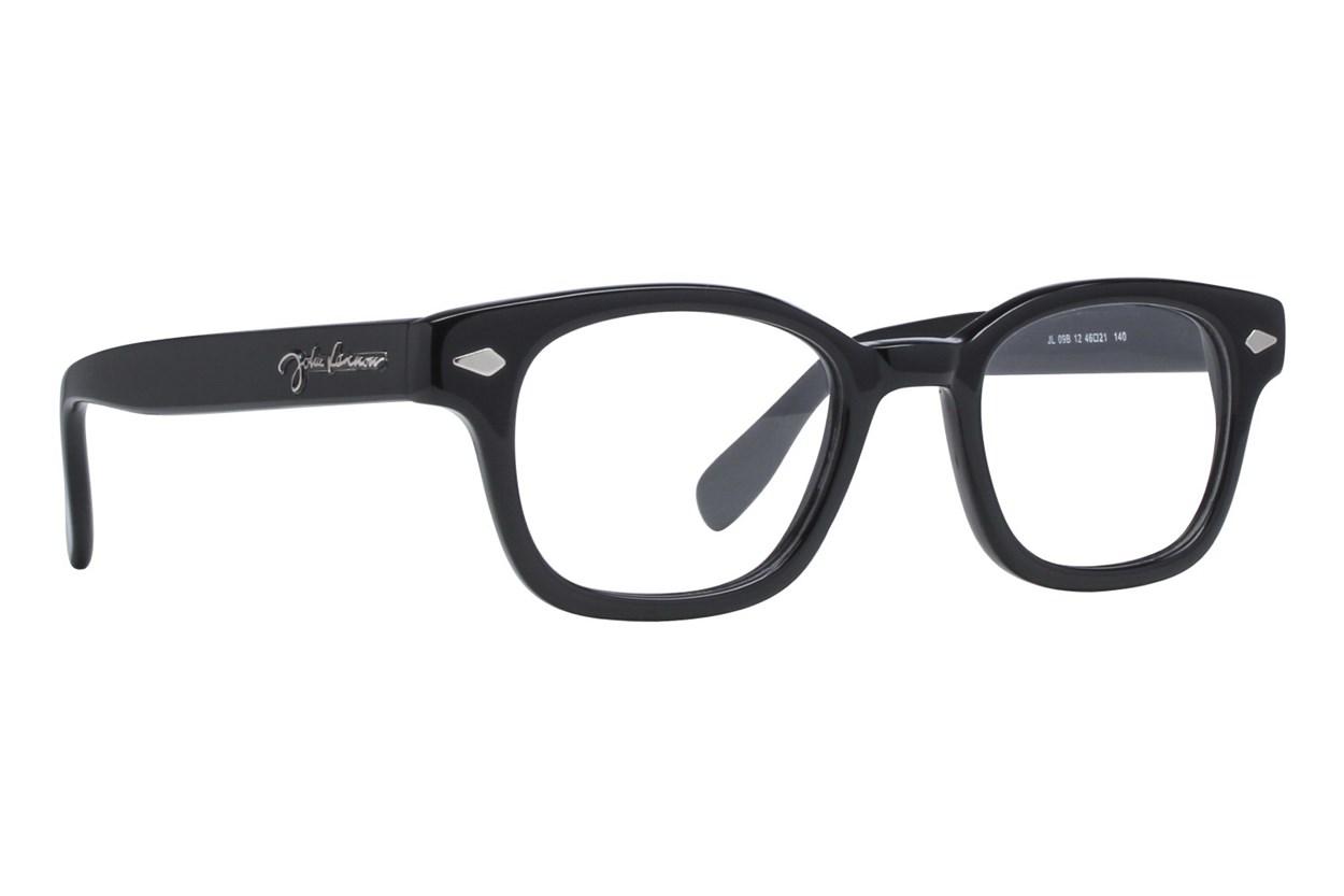 John Lennon JL 09 Black Eyeglasses