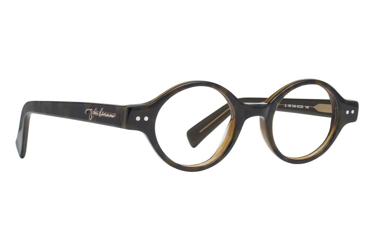 John Lennon JL 10 Black Eyeglasses