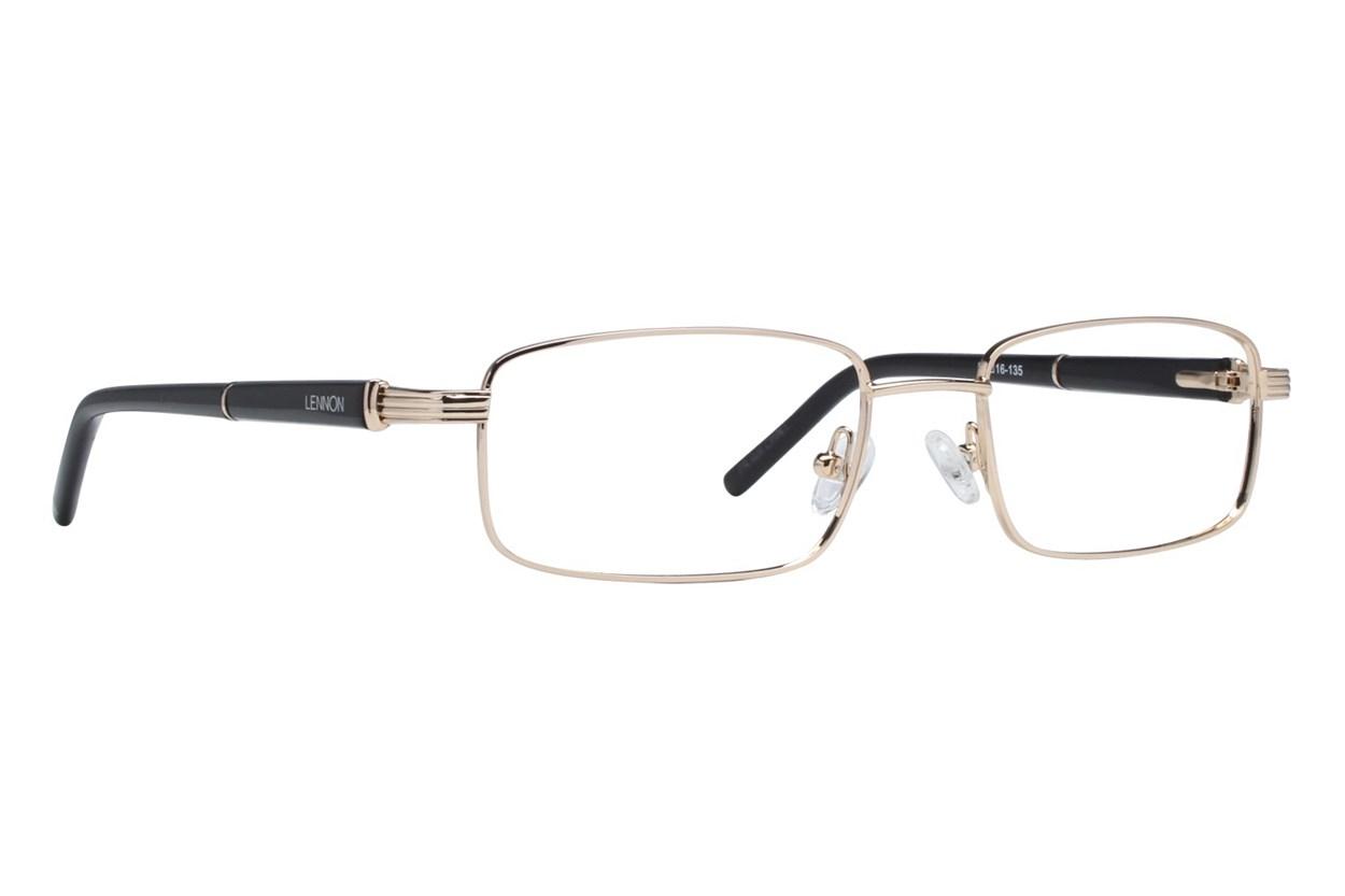 Lennon L3000 Gold Eyeglasses