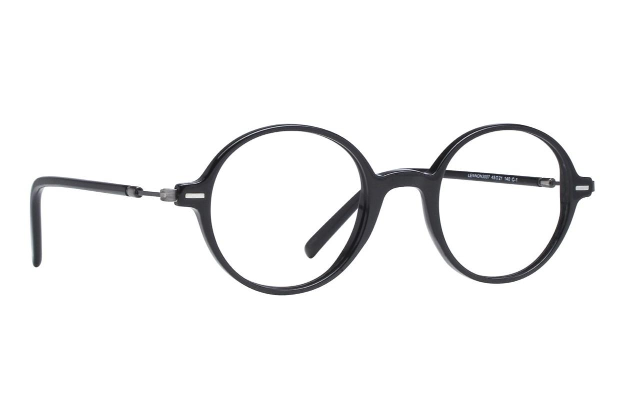 Lennon L3007 Black Eyeglasses