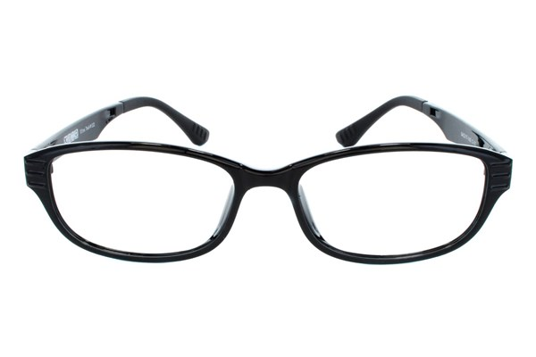 Ultra Tech UT 112 Black Eyeglasses