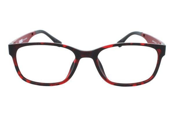 Ultra Tech UT 115 Eyeglasses - Wine