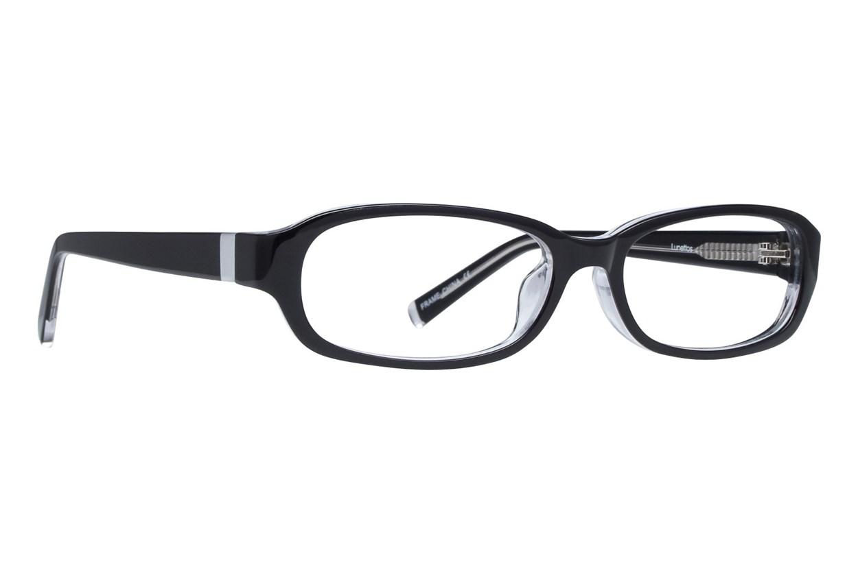 Lunettos Brenda Black Eyeglasses