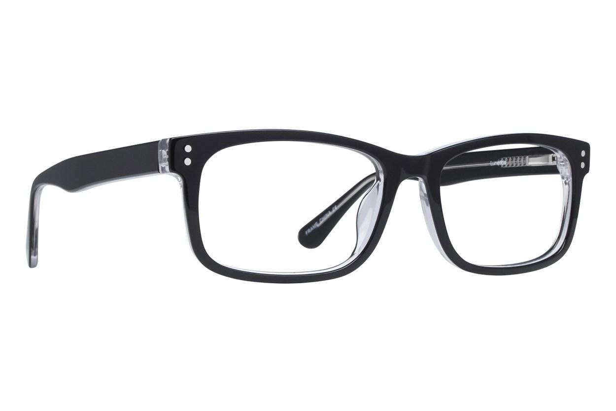 Lunettos Christopher Black Eyeglasses