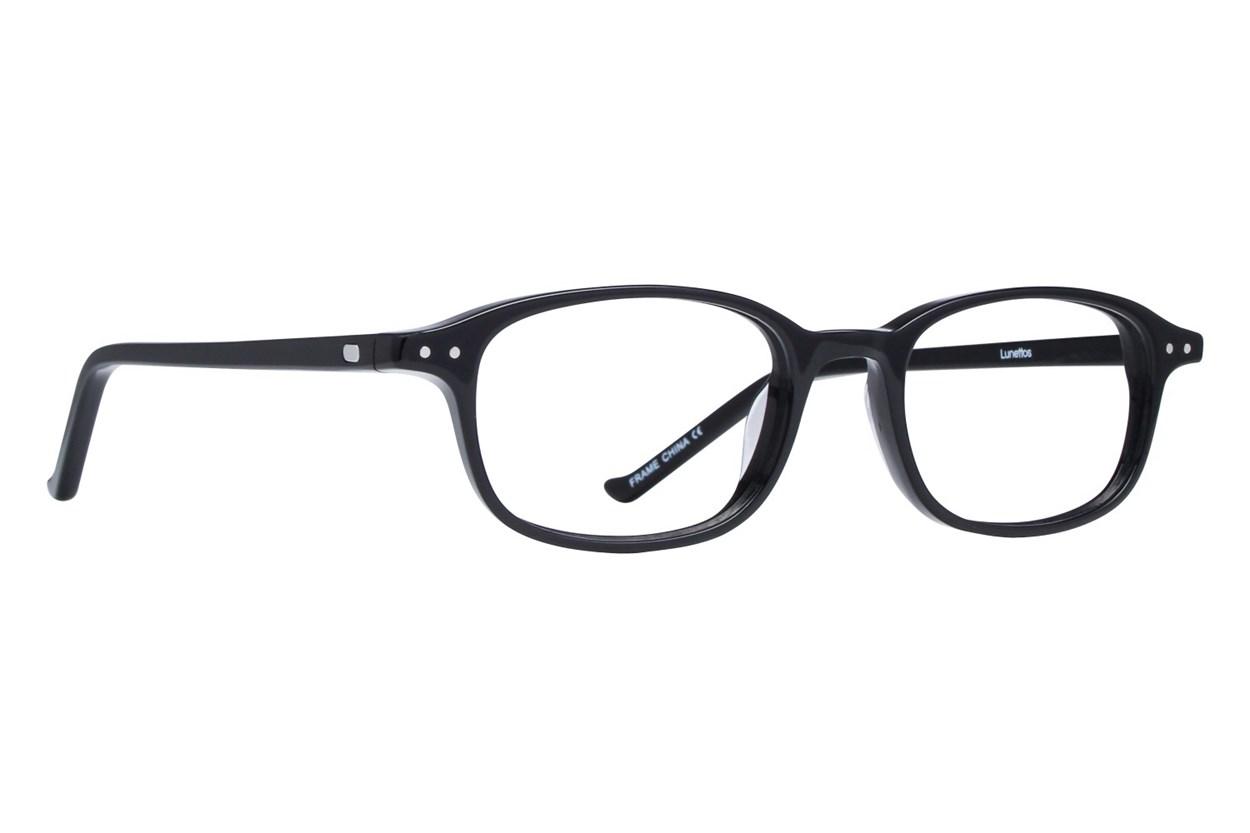 Lunettos Cullen Black Eyeglasses