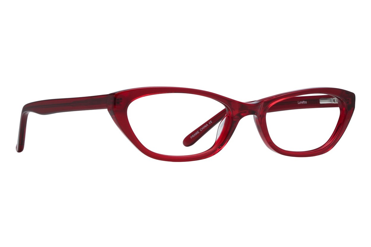 Lunettos Emily Eyeglasses - Red