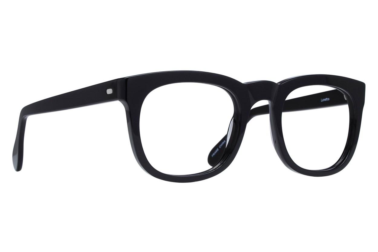 Lunettos Jeff Black Eyeglasses