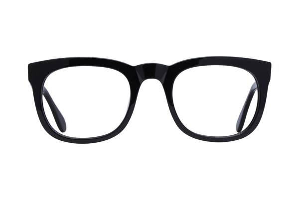 Lunettos Jeff Black Eyeglasses