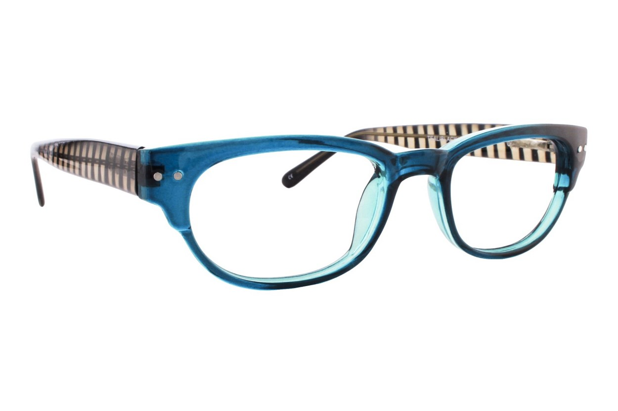 Lunettos Kylee Blue Eyeglasses
