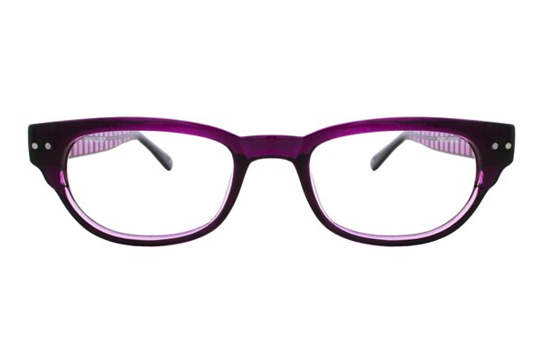 Lunettos Kylee Eyeglasses - Purple