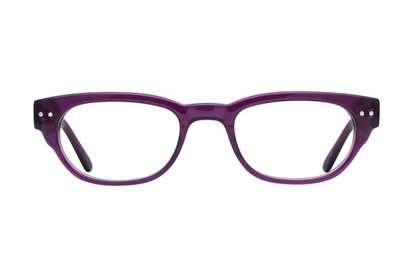 Lunettos Kylee Purple Eyeglasses