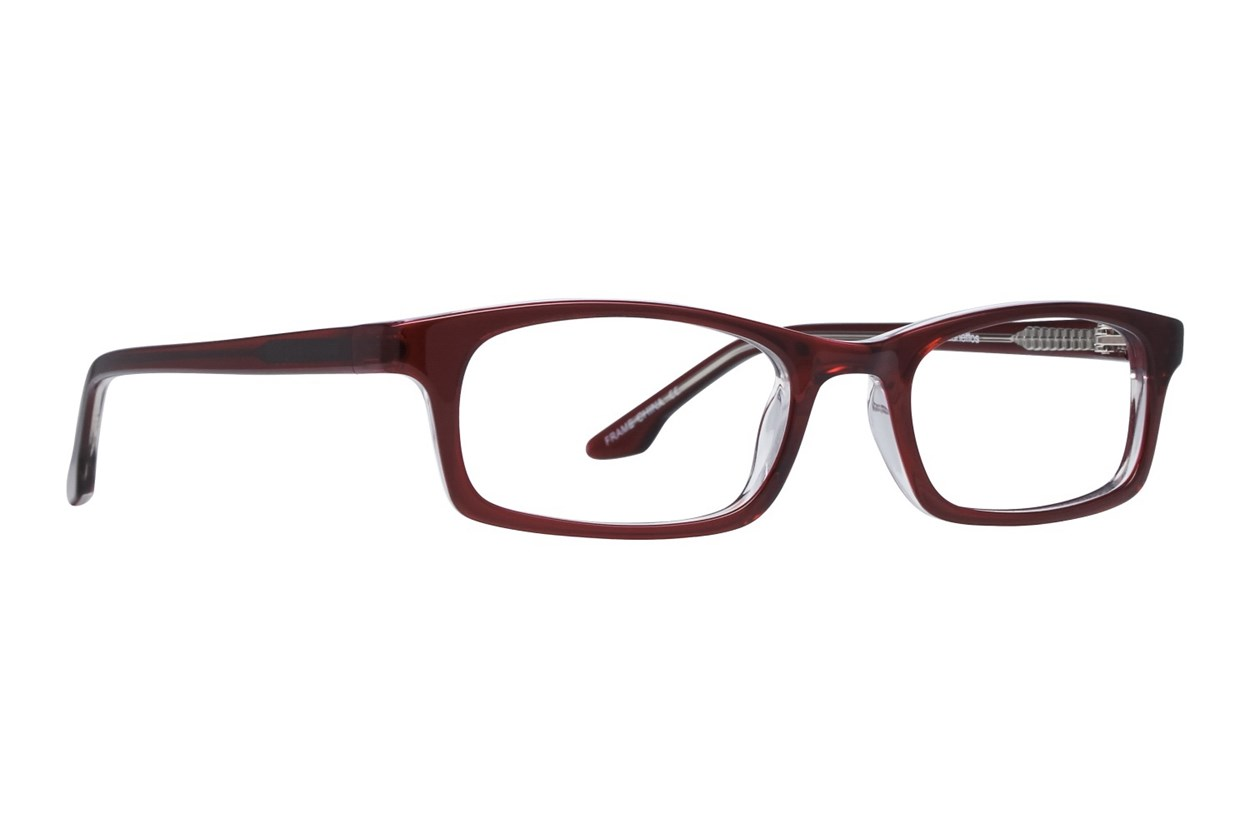 Lunettos Amy Wine Eyeglasses