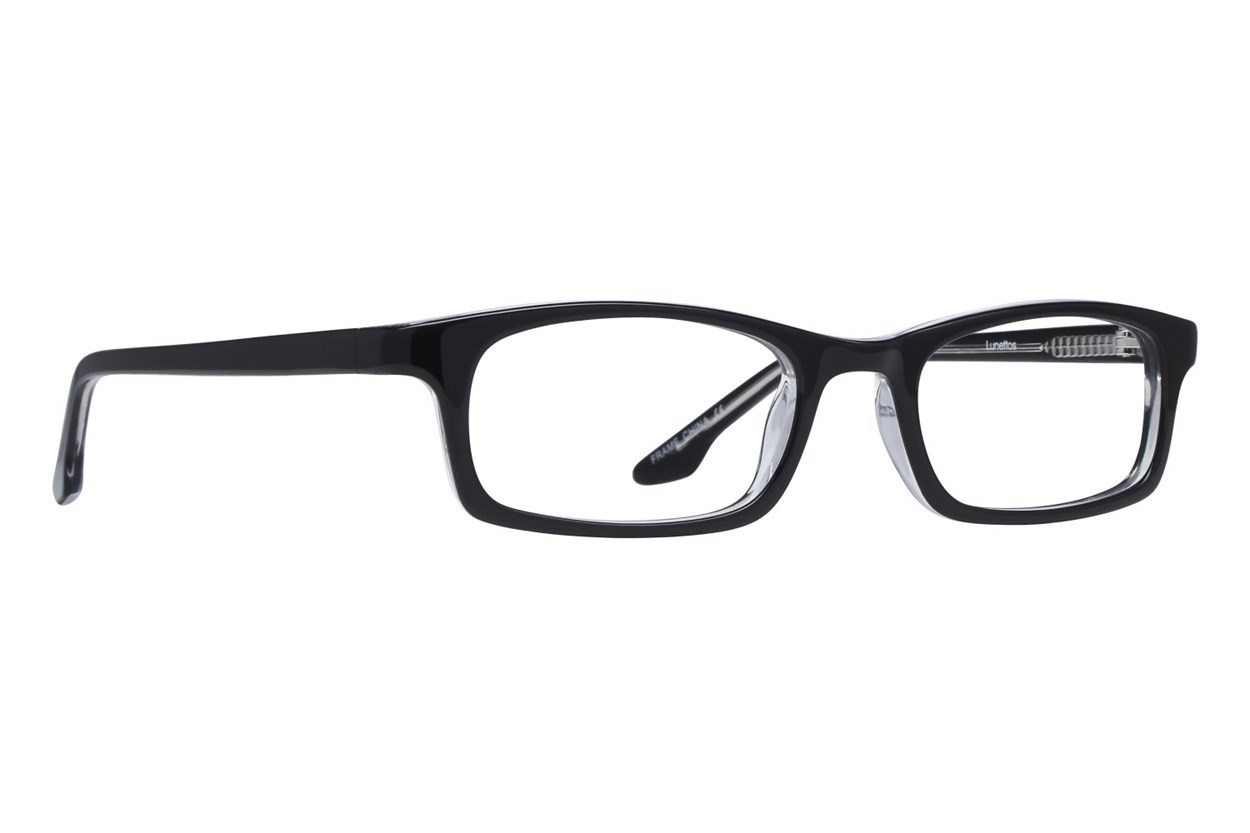 Lunettos Amy Black Eyeglasses