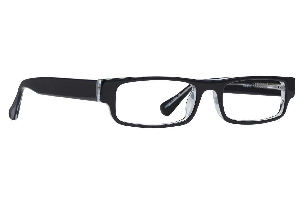 Lunettos Phillip Black Eyeglasses