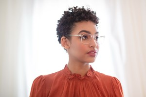 Click to swap image to alternate 1 - Lunettos Regina Clear Eyeglasses