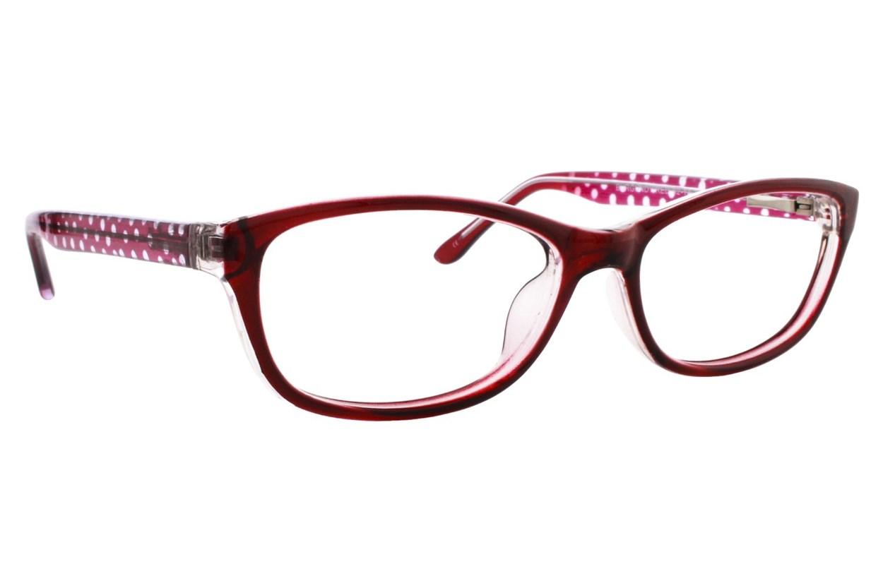 Lunettos Samantha Red Eyeglasses