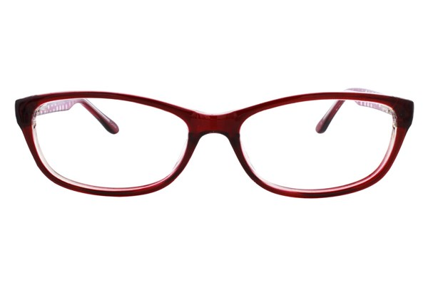 Lunettos Samantha Eyeglasses - Red